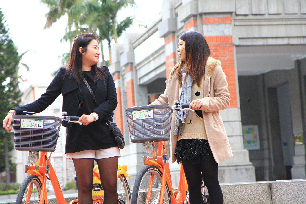 恢復營運的YouBike市府站,串聯演藝廳、241藝術空間、美術館、影博館。圖/...