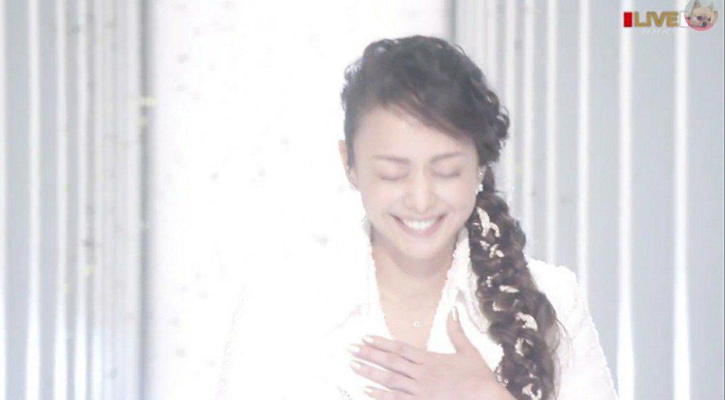 安室情緒激動。圖/摘自NHK