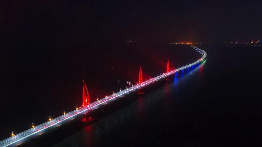 港珠澳大橋。新華社