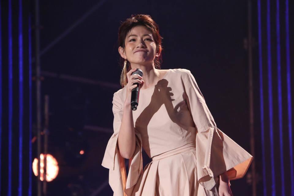 台南跨年晚會李千娜開唱。圖/台南市政府提供