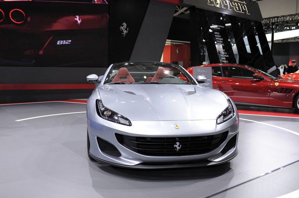 全新 Ferrari Portofino 台灣建議基本車價:新台幣1,228萬元。 記者林鼎智/攝影