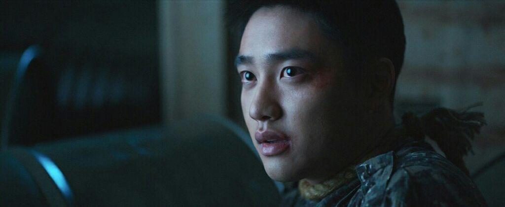 知名男團EXO成員都敬秀在「與神同行」中有突破性演出。圖/采昌提供