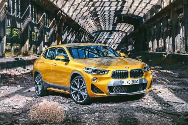BMW X2。 圖/BMW提供