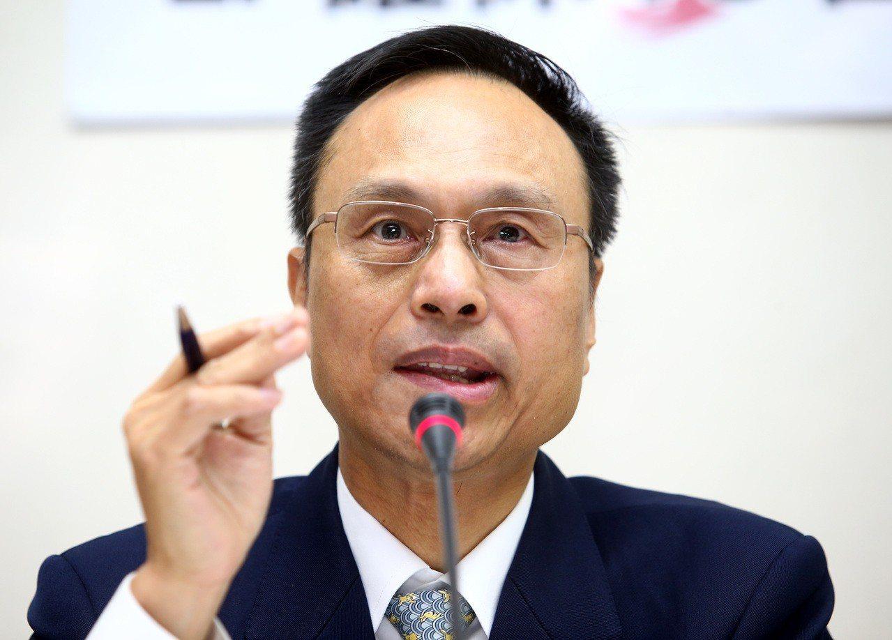 外交部領事事務局長陳俊賢。 本報系資料照片/記者陳柏亨攝影