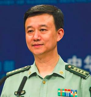 大陸國防部新聞局局長、新聞發言人吳謙。 圖/取自新華網