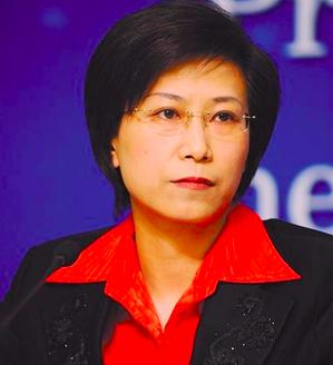 大陸食藥監總局新聞宣傳司司長、新聞發言人顏江瑛。 圖/取自新華網