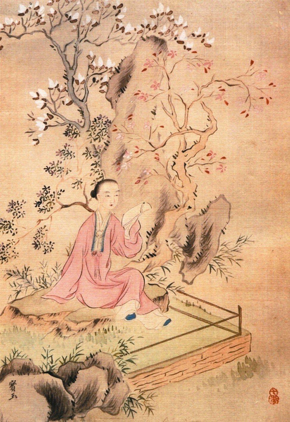 賈寶玉。(圖/清‧改琦繪,現藏南京博物院)