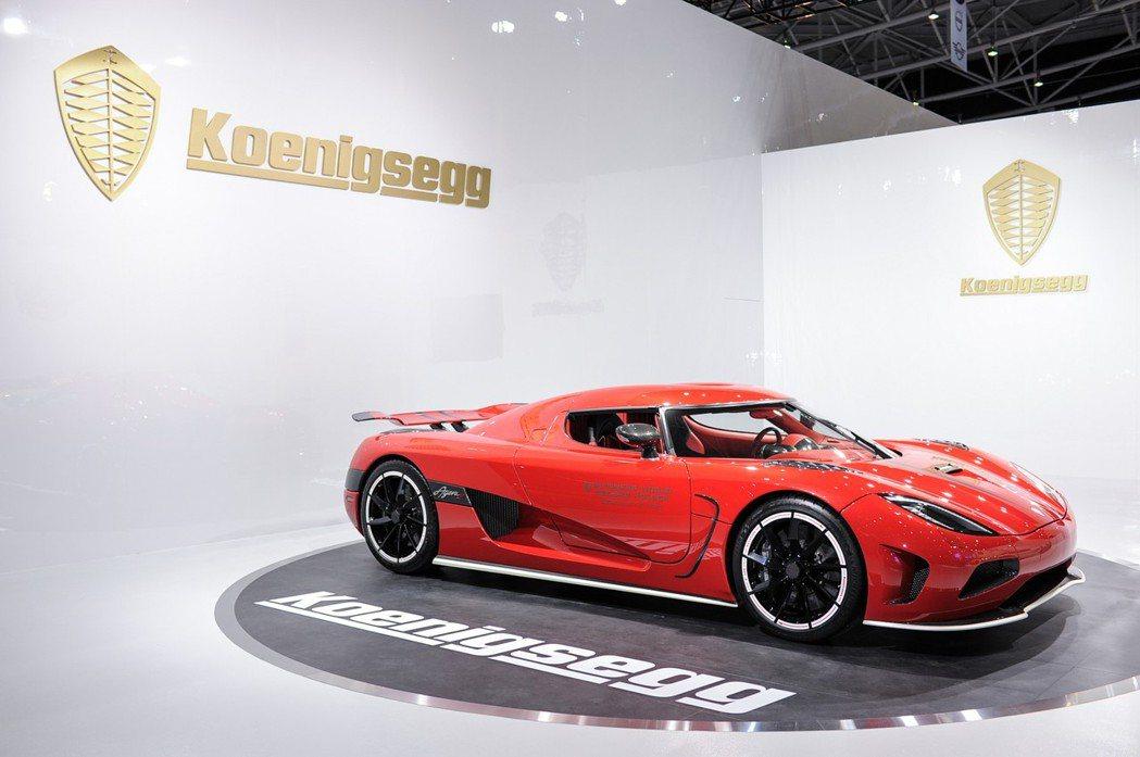曾創下11年金氏世界紀錄的世界紀錄實車Koenigsegg Agera R 此...