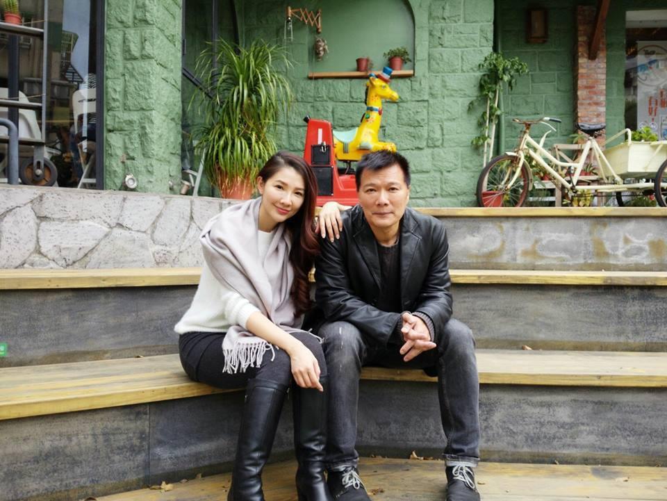 蔡詩萍好友王文華終於在去年12月31日舉辦婚宴。 圖/擷自臉書。