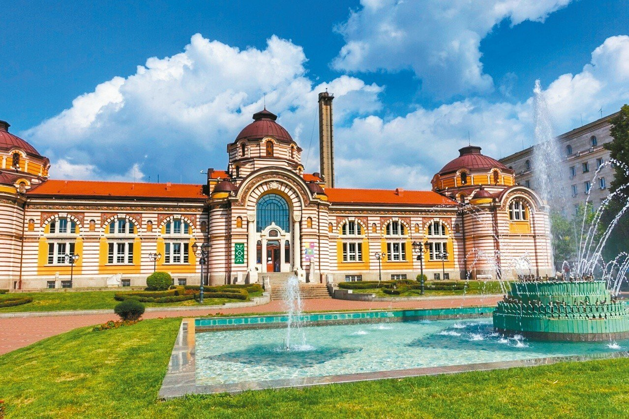 十六世紀建造的澡堂,目前是索菲亞歷史博物館。
