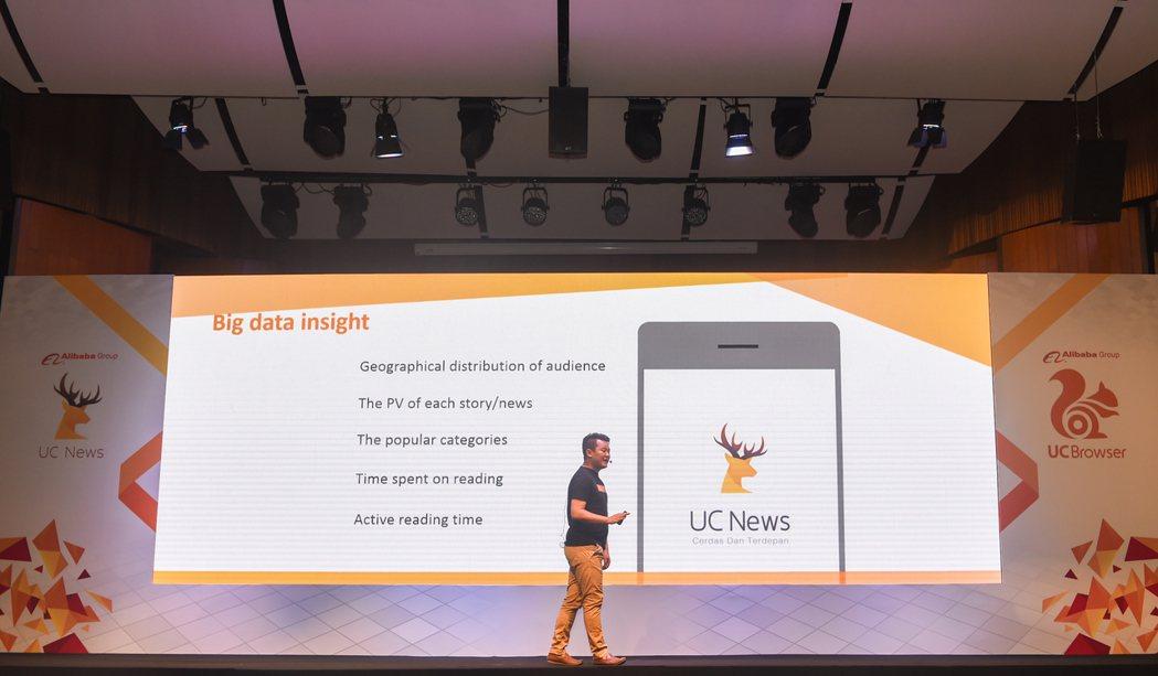2016年8月31日,阿里巴巴行動事業群在印尼雅加達發布UC瀏覽器的「UC頭條」...