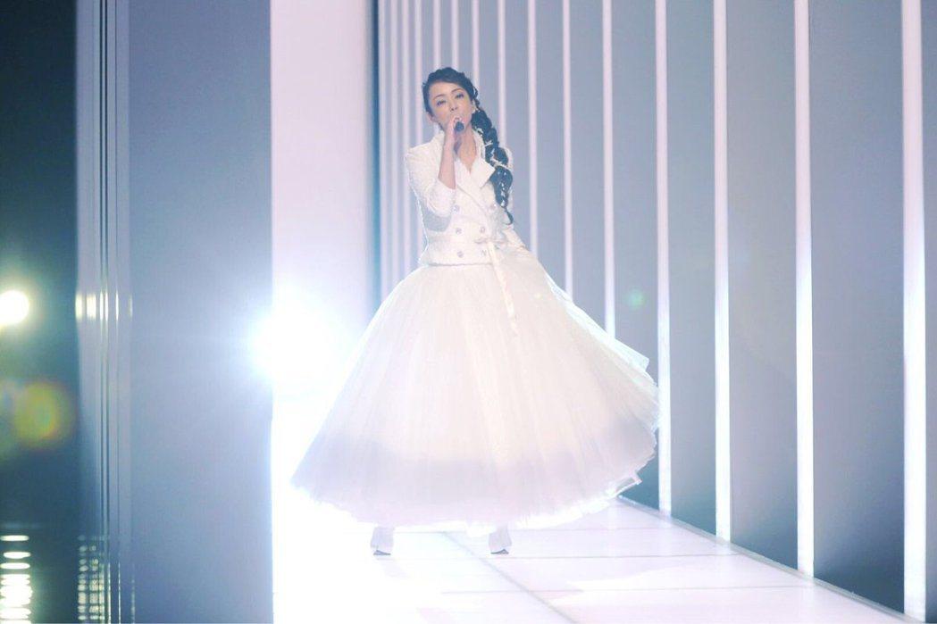 安室的演出紀念性質大於實質效益。圖/摘自NHK
