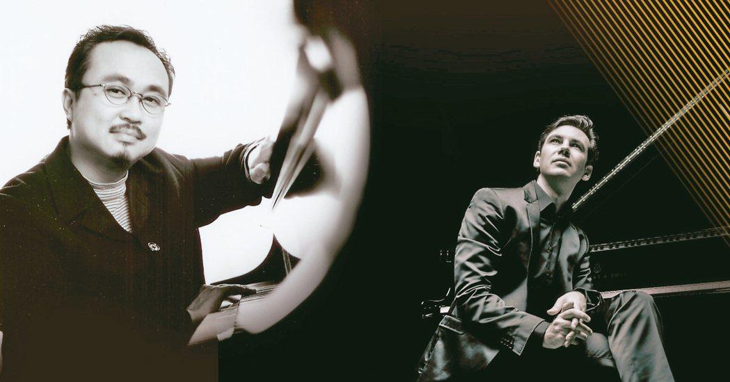 鋼琴貴公子「馬丁.史岱費爾德」、世紀大師「鄧泰山」限時早鳥套票預售。 圖╱聯合數...
