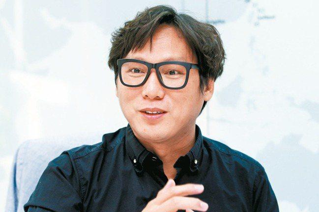 大江生醫董事長林詠翔。 報系資料照