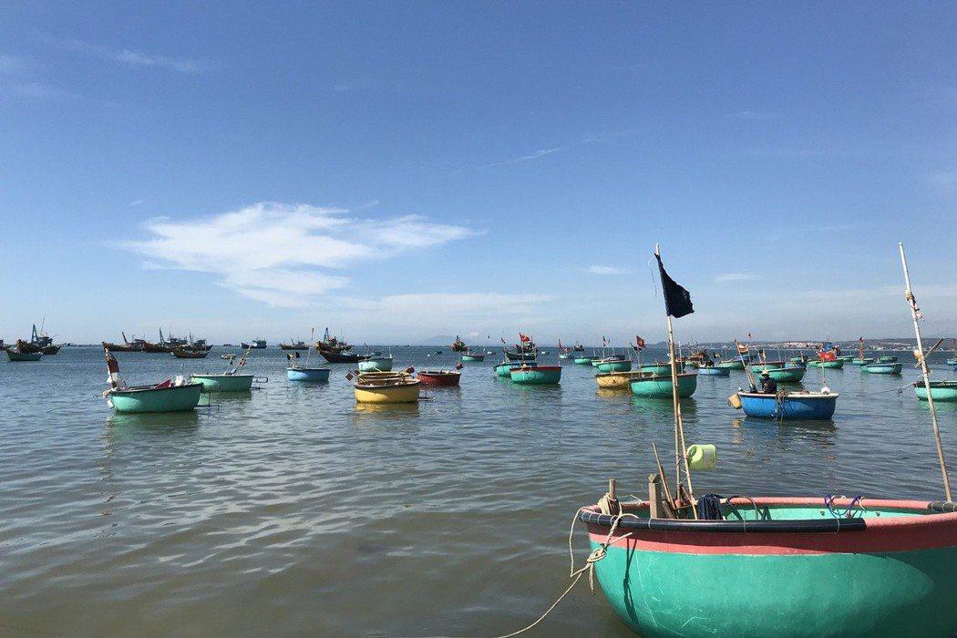 美奈是一座小漁村,位在胡志明市東北方200公里的半島上。 記者黃日暉/攝影