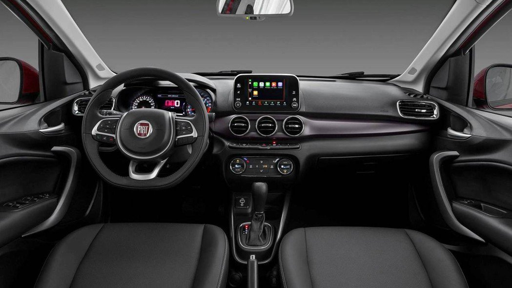 FIAT Cronos內裝風格並未有太多創新,大抵承襲Argo的設計。 圖片來源:FIAT