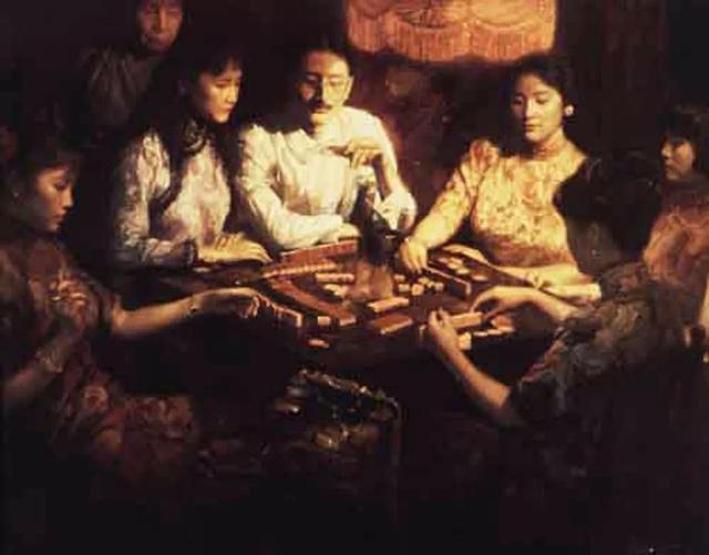 陳逸飛 黃金歲月 布面油畫 152.5 x 198.1cm C 佳士得 1999...