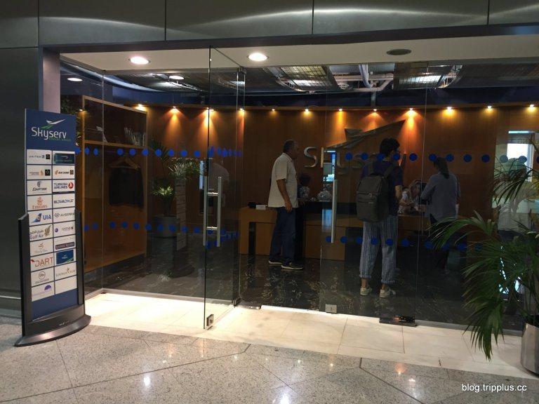 Skyserv貴賓室,雅典機場似乎沒有航空公司專屬的貴賓室,大部分都是與簽約貴賓...