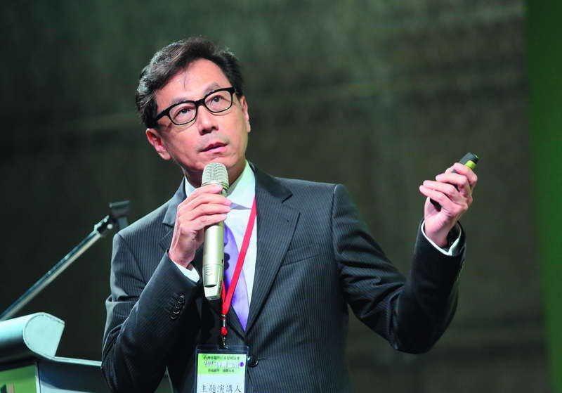 蔡明忠(圖)與鴻海結盟,讓凱擘成為有線電視產業最大霸主。 攝影/柯承惠