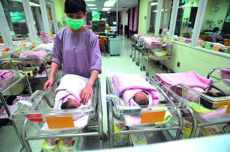台灣出生率再不提升,人口數2000萬關卡將失守。 攝影/林瑞慶