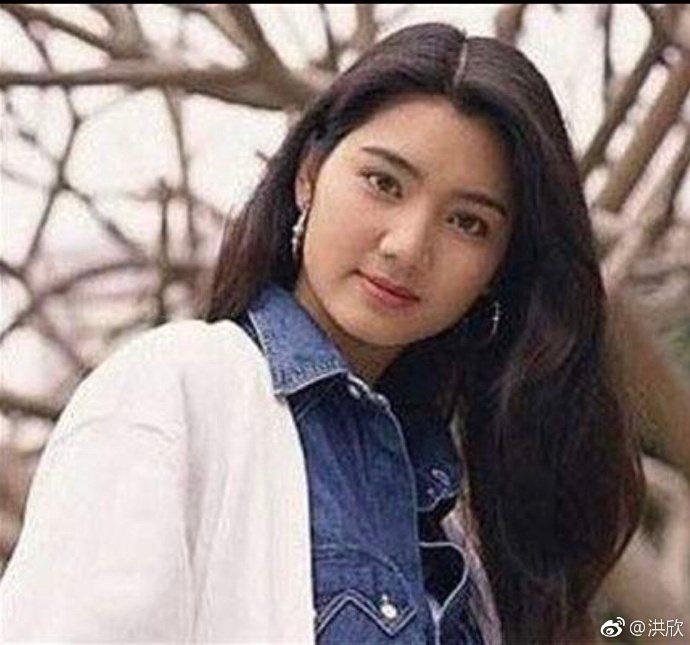 洪欣曾是90年代當紅香港女星。圖/摘自微博