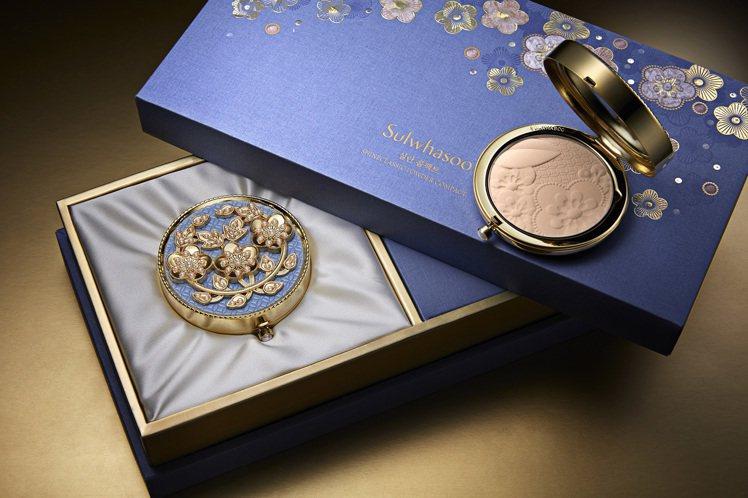 以潤燥精華為經典商品的雪花秀,每年都會推出限定版的香釉花粧盒,也象徵品牌韓系血統...