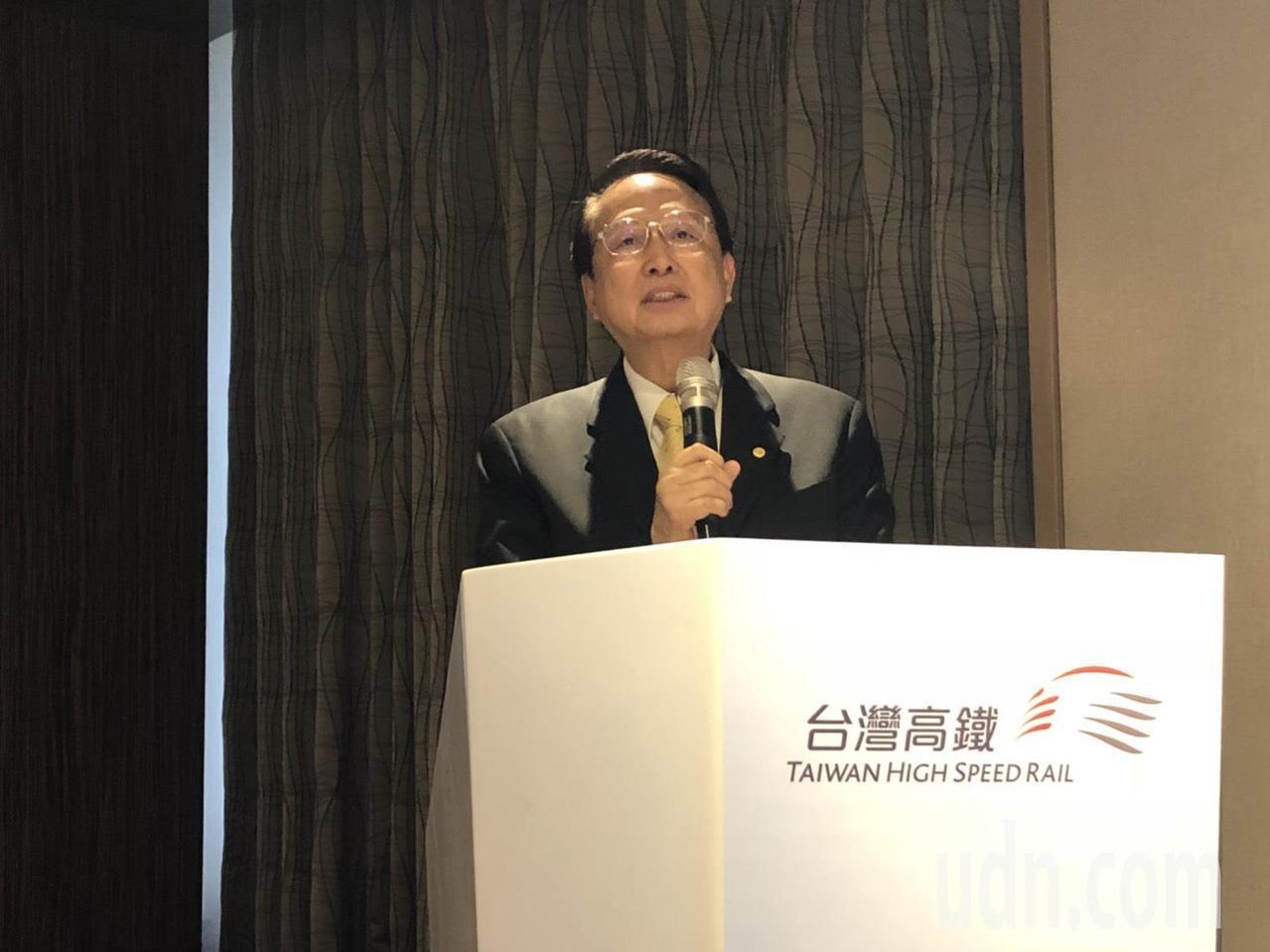 台灣高鐵董事長江耀宗。記者侯俐安/攝影