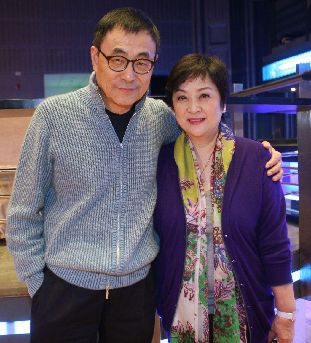 劉家昌與甄珍恩愛畫面早成過去,近年來更不時隔空交火。圖/聯合報系資料照
