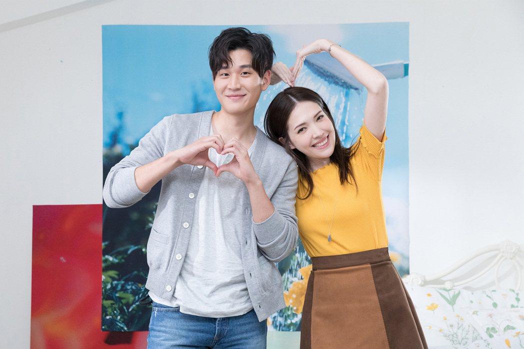 周興哲新歌MV和許瑋甯合作。圖/索尼音樂提供