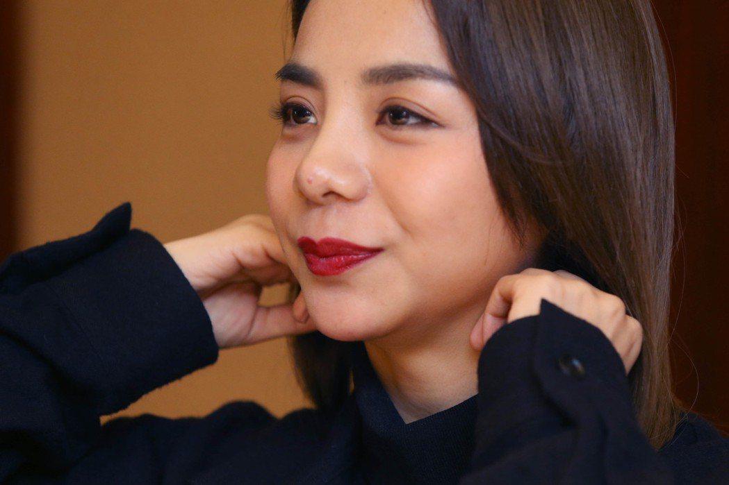 大陸歌手金玟岐專訪。記者林俊良/攝影