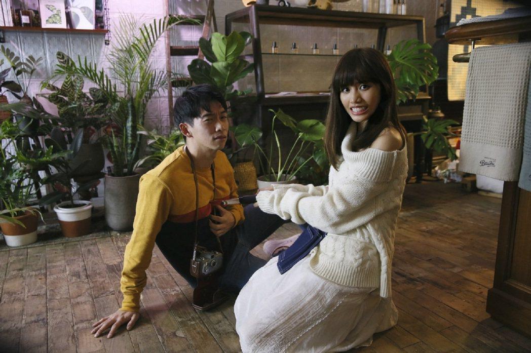 吳汶芳MV和男主角有吻戲。圖/福茂唱片提供