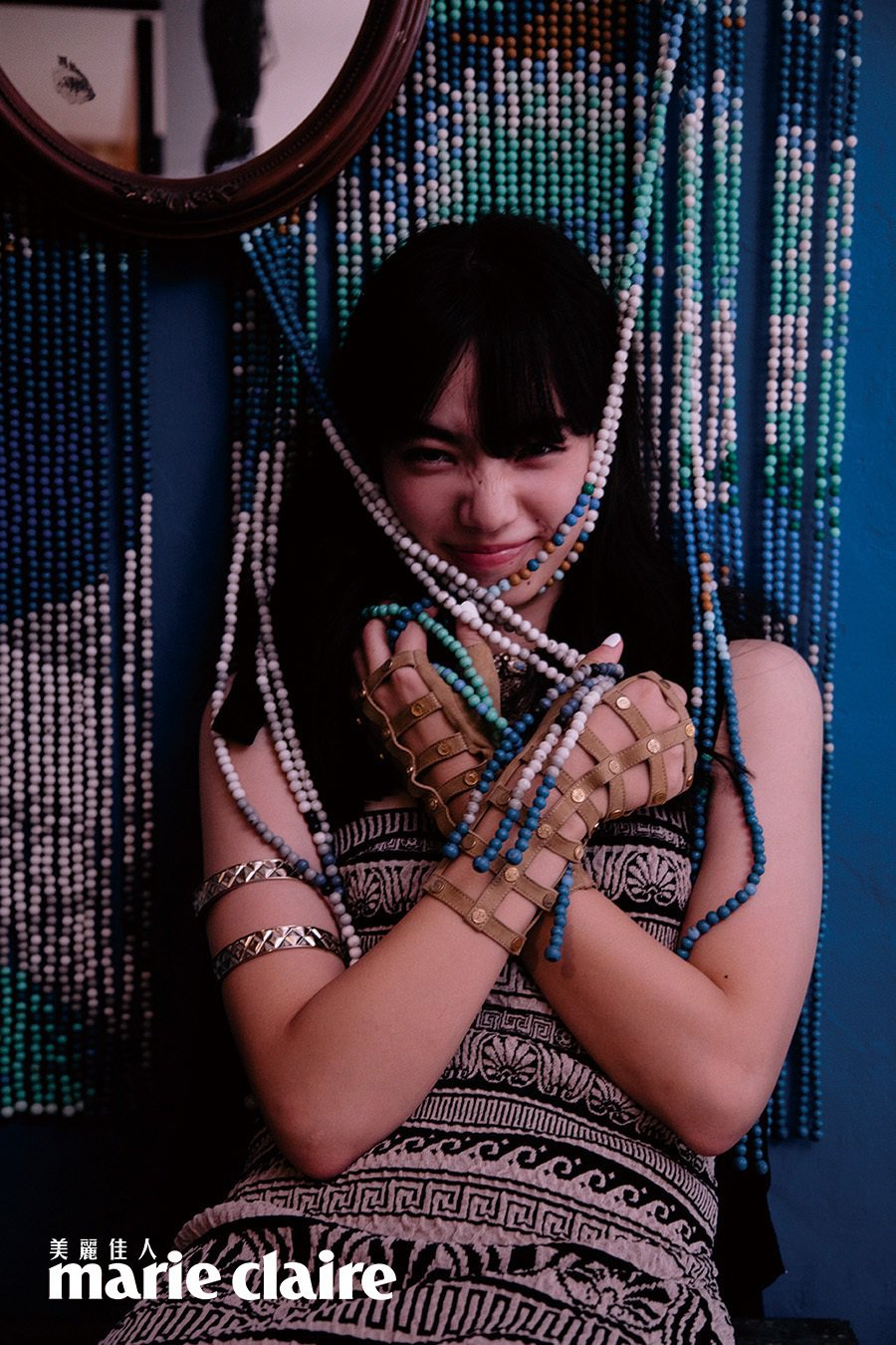 小松菜奈自認從演戲中成長許多。圖/Marie Claire美麗佳人提供