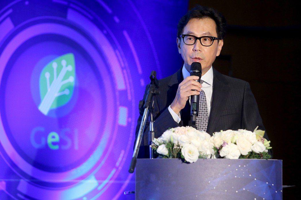 2017年11月中,富邦旗下的凱擘集團宣布將放棄頻道代理商身份。圖為富邦集團董事...