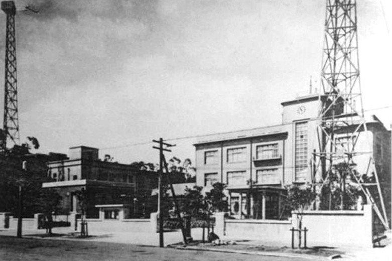 1938年6月30日竣工的台灣總督府氣象台廳舍,中央氣象局前身。 圖/取自台灣建築會誌第11輯 第4號,1939年