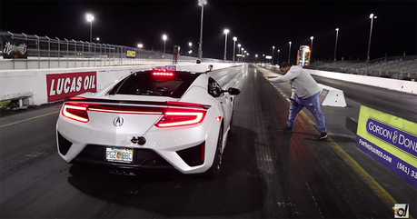 世界最速Acura NSX挑戰Tesla Model S 純電對上Hybrid!