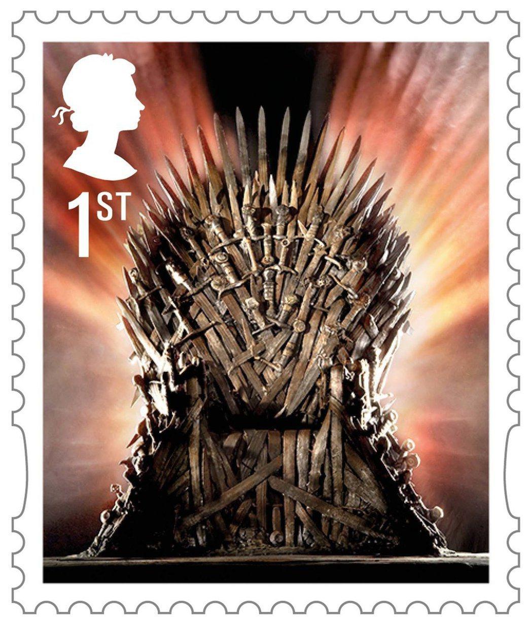 鐵王座      圖/摘自Royal Mail
