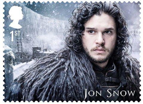 全球風靡第一夯劇、HBO「冰與火之歌:權力遊戲」,已有各種各樣的相關產品,令億萬粉絲買到手軟,而今英國「皇家郵政」宣布,要推出一套15張的「冰」劇紀念郵票,除了10個人物各有一張外,劇裡的異鬼、冰原...