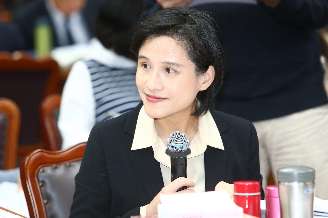 鄭麗君。聯合報系資料照/記者王騰毅攝影