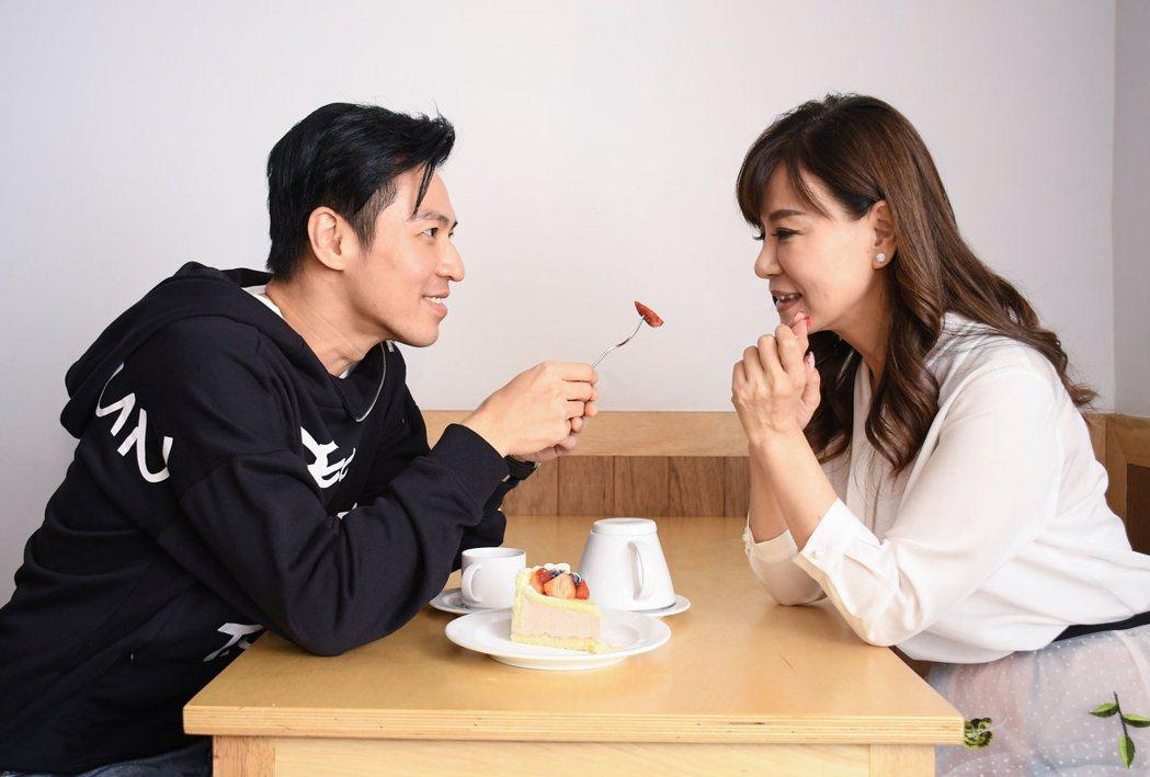 龍千玉新歌「陪阮到老」MV找來王海輪跨刀。圖/豪記唱片提供
