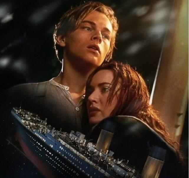 「鐵達尼號」上映滿20周年,剛好與男主角的新女友同歲數。圖/摘自imdb