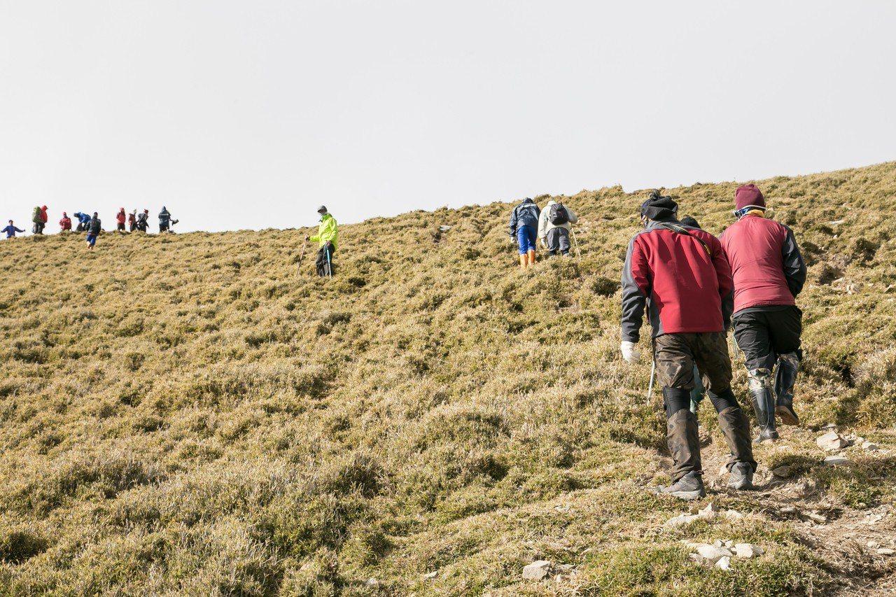 嘉明湖國家步道靜山封路,請山友勿入。 圖/聯合報系資料照片