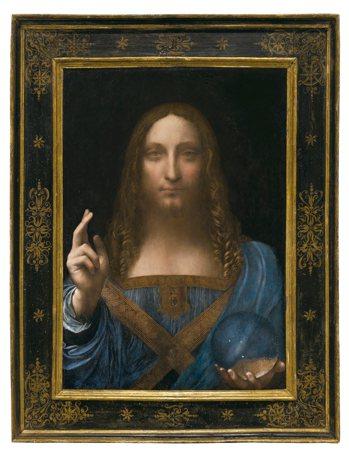 達文西「救世主」將成為阿布達比羅浮宮鎮館之寶。 圖/紐約佳士得提供