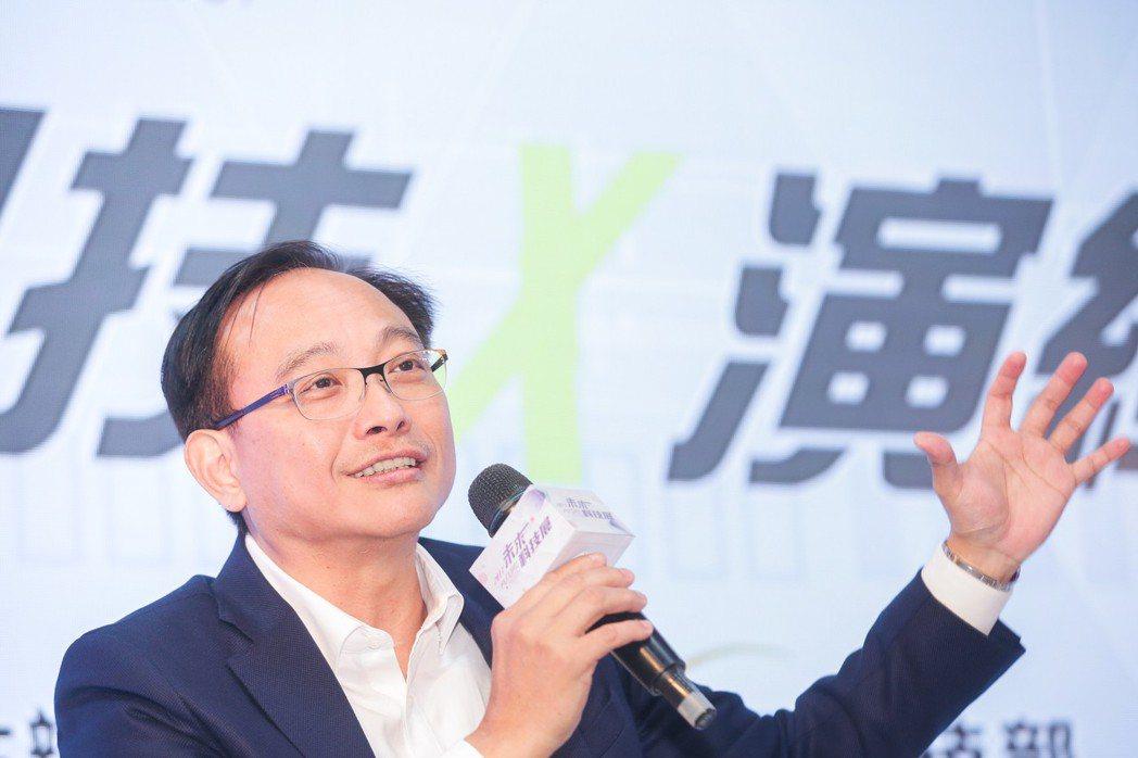 凌華科技董事長劉鈞。 林鼎皓/提供