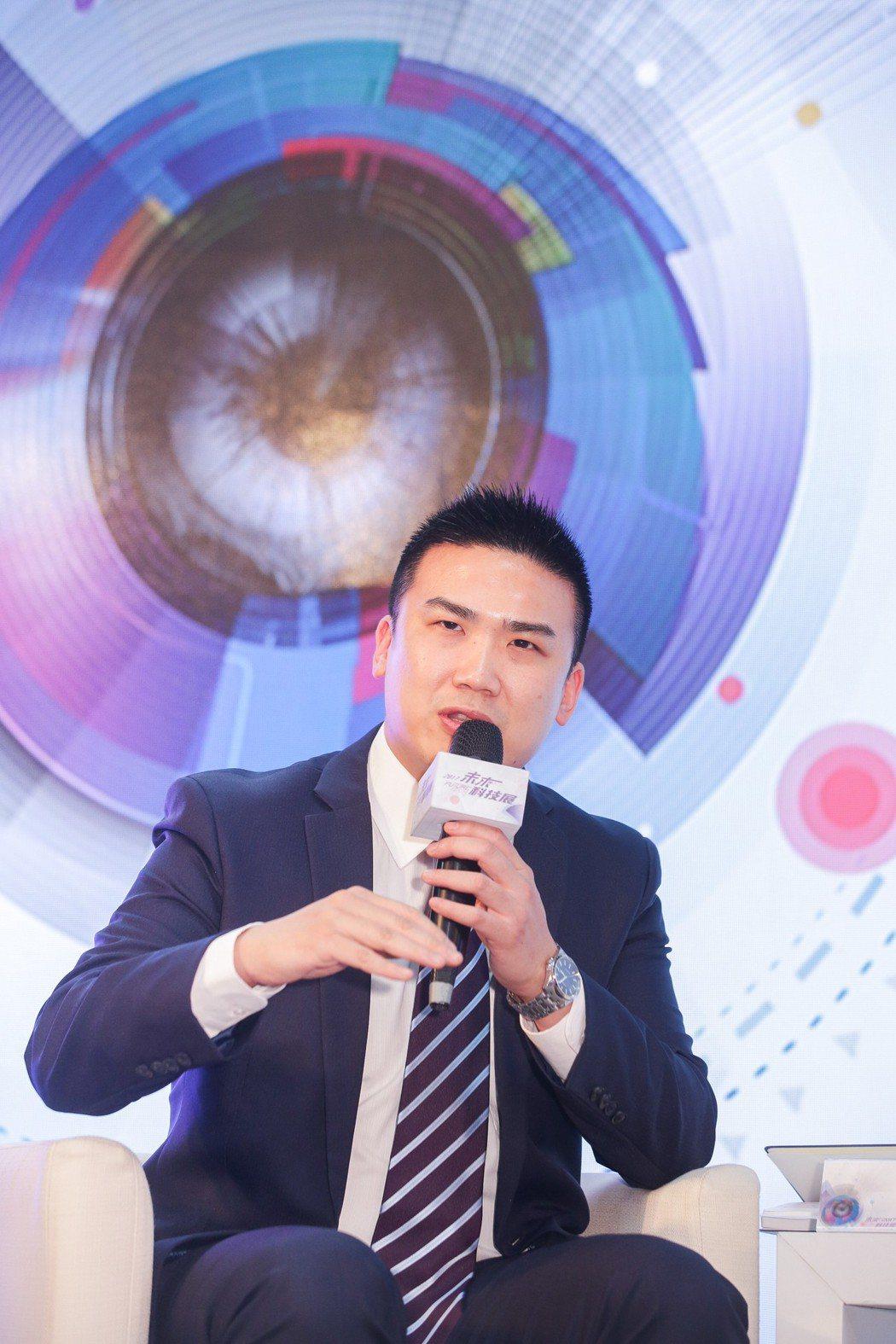 國家儀器行銷技術總監吳維翰。 林鼎皓/提供