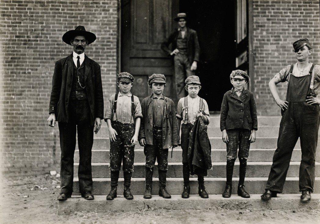 圖為1908年美國童工。 圖/維基共享