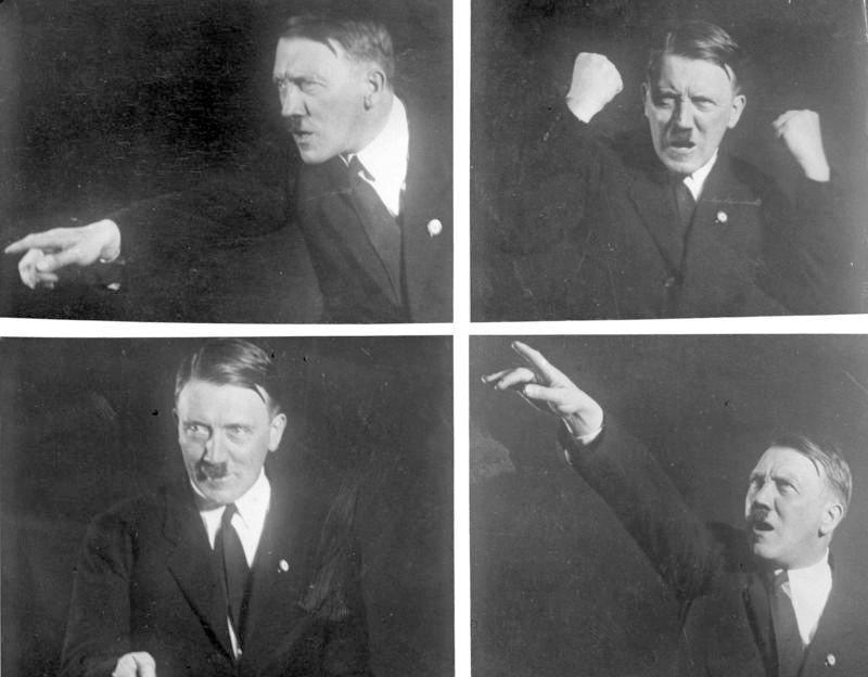 儘管二次大戰結束已七十多年了,然而希特勒的陰影依然存在。 圖/維基共享