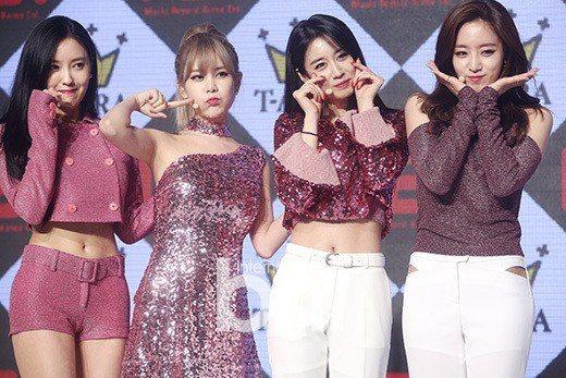 T-ara不再與MBK娛樂續約。圖/bntnews