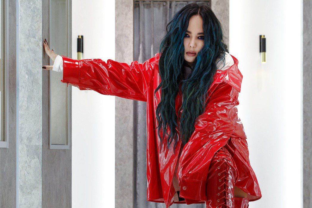 張惠妹2月4日將在台北信義區開唱。圖/EMI提供
