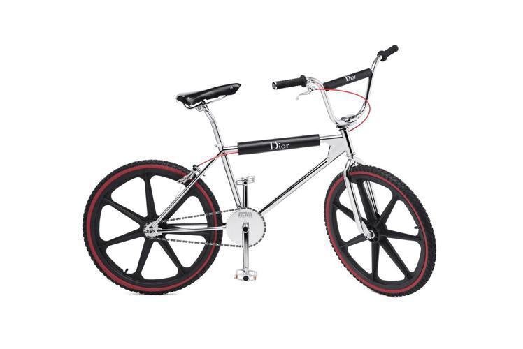 Dior限量BMX極限自行車,價格店洽。圖/Dior提供