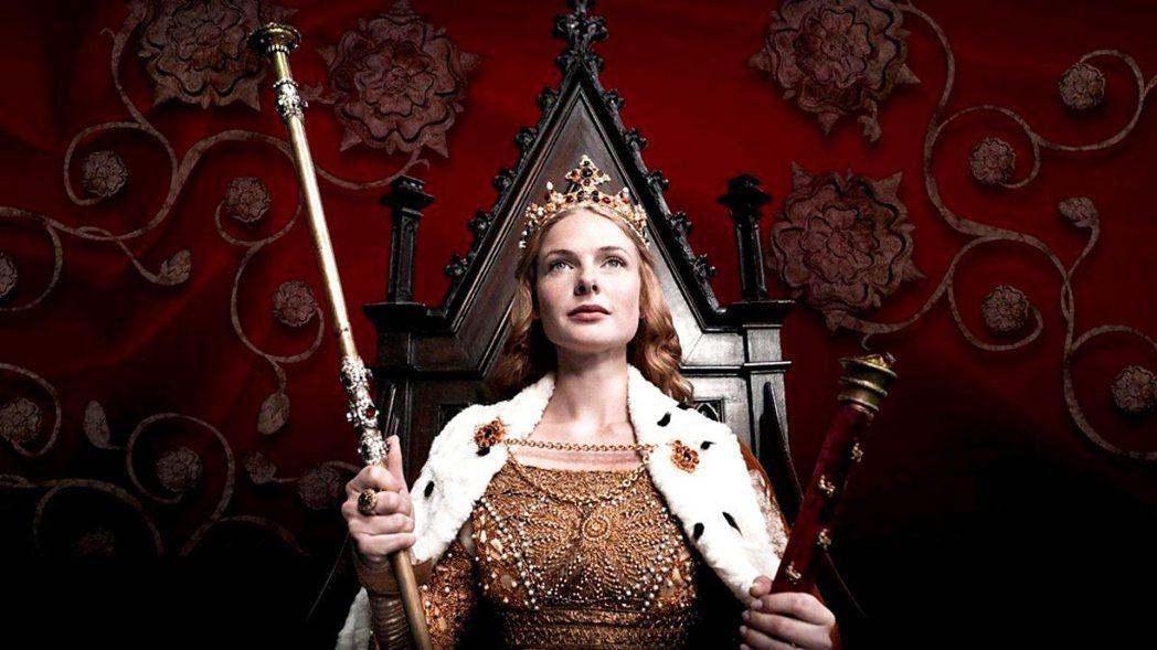 蕾貝卡佛格森的星運在「白皇后」後一路走旺。圖/Star World提供